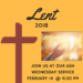Save the Date – Ash Wednesday Service