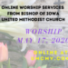 Sunday ONLINE Worship – May 17, 2020
