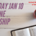 January 10 Online Worship