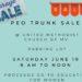 PEO Garage Sale in UMCMV Parking Lot Saturday